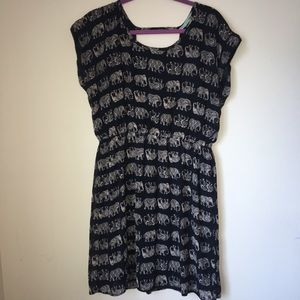 Maurices Dresses - Maurices Elephant Patterned Dress